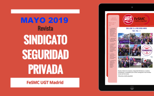 Sindicato de Seguridad Privada | Revista MAYO 2019