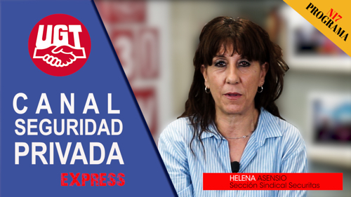 VIDEO | CANAL DE NOTICIAS DE SEGURIDAD PRIVADA FeSMC UGT MADRID (Programa 17)